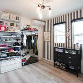 注文住宅 かっこいい工務店 岡山 アイム・コラボレーション アイムの家 施工例18 衣装コーナー セレクトショップ