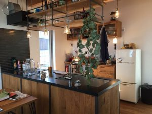 注文住宅 かっこいい工務店 京都府 福知山市 ADACHI住建 足立住建 商品 ほどよく自然体でかっこよく暮らす家 キッチン