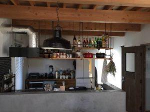 注文住宅 かっこいい工務店 京都府 福知山市 ADACHI住建 足立住建 商品 ほどよく自然体でかっこよく暮らす家 キッチン 2