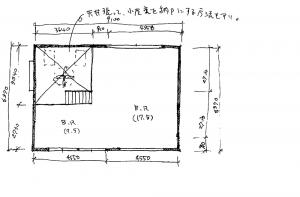 注文住宅 かっこいい工務店 京都府 福知山市 ADACHI住建 足立住建 商品 ほどよく自然体でかっこよく暮らす家 平面図 2F