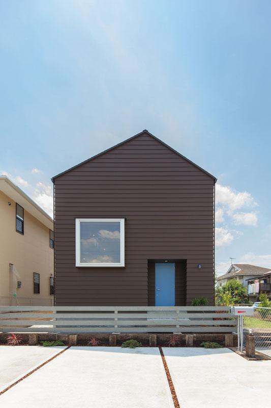 注文住宅 かっこいい工務店 京都府 福知山市 ADACHI住建 足立住建 商品 ほどよく自然体でかっこよく暮らす家 外観