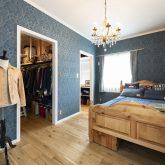 注文住宅 かっこいい工務店 福岡 不動産プラザ 施工例16 アメリカンスタイル アメカジ 寝室