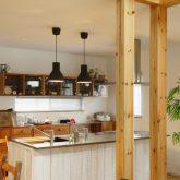 注文住宅 かっこいい工務店 山形県 山形市 福井建設 施工例18 全てがかっこ良いこだわりの家 キッチン