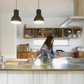 注文住宅 かっこいい工務店 山形県 山形市 福井建設 施工例18 全てがかっこ良いこだわりの家 キッチン アイランド