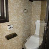 注文住宅 かっこいい工務店 宮城 富樫工業 トガシホーム 施工例60 ブリック ニューヨークスタイル トイレ