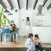 注文住宅 かっこいい工務店 規格住宅 熊本 ブレス 施工例33 熊本県熊本市南区薄場 シンプルモダン ダイニング&キッチン