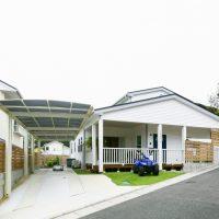 注文住宅 かっこいい工務店 福岡 不動産プラザ 施工例17 サーファーズハウス 外観