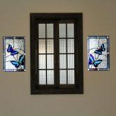 注文住宅 かっこいい工務店 宮城 富樫工業 トガシホーム 施工例61 プロヴァンス フレンチ 寝室 内窓 ステンドグラス