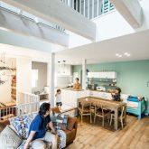 注文住宅 かっこいい工務店 熊本 ブレス ブレスホーム 施工例33 西海岸テイスト LDK
