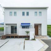 注文住宅 かっこいい工務店 熊本 ブレス ブレスホーム 施工例33 西海岸テイスト 外観