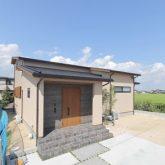 注文住宅 かっこいい工務店 岡山 アイム・コラボレーション アイムの家 施工例23 平屋のような佇まいの二世帯住宅 外観