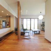 注文住宅 かっこいい工務店 岡山 アイム・コラボレーション アイムの家 施工例23 平屋のような佇まいの二世帯住宅 LDK