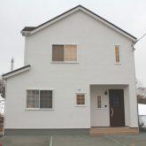 注文住宅 かっこいい工務店 宮城 富樫工業 トガシホーム 施工例62 プロヴァンス フレンチ かわいい 塗り壁 外観