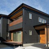注文住宅 かっこいい工務店 岡山 アイム・コラボレーション アイムの家 施工例24 オフィスやアクアリウムまで。機能性が高く、回遊性のある家 外観