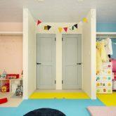 注文住宅 かっこいい工務店 岡山 アイム・コラボレーション アイムの家 施工例24 オフィスやアクアリウムまで。機能性が高く、回遊性のある家 子供部屋