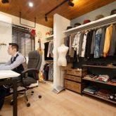 注文住宅 かっこいい工務店 岡山 アイム・コラボレーション アイムの家 施工例24 オフィスやアクアリウムまで。機能性が高く、回遊性のある家 オフィス 兼 書斎
