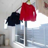 注文住宅 かっこいい工務店 岡山 アイム・コラボレーション アイムの家 施工例24 オフィスやアクアリウムまで。機能性が高く、回遊性のある家 洗濯物 サンルーム