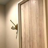 注文住宅 かっこいい工務店 東京 バークノア 新築・増改築・リフォーム・リノベーション 設計デザイン施工管理 施工例16 アパートマジック シャビーシック ワンルーム フック