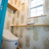 注文住宅 かっこいい工務店 山形県 福井建設 自由設計 南陽市 1F トイレ