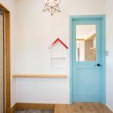 注文住宅 かっこいい工務店 山形県 福井建設 自由設計 南陽市 玄関ホール