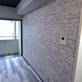 注文住宅 かっこいい工務店 東京 バークノア 新築・増改築・リフォーム・リノベーション 設計デザイン施工管理 施工例16 アパートマジック ヴィンテージ ワンルーム レンガ風クロス