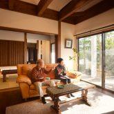注文住宅 かっこいい工務店 熊本 ブレス ブレスホーム 施工例36 和風建築 平屋 モダン リビング