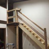 注文住宅 かっこいい工務店 三重県 桑名市 家作店 辰屋 新築 施工例2 木製 階段