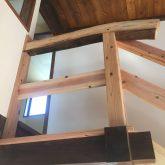 注文住宅 かっこいい工務店 三重県 桑名市 家作店 辰屋 新築 施工例2 木製 階段 手すり