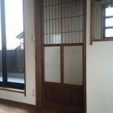 注文住宅 かっこいい工務店 三重県 桑名市 家作店 辰屋 新築 施工例2 2階 寝室 和風室内ドア