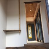 注文住宅 かっこいい工務店 三重県 桑名市 家作店 辰屋 新築 施工例2 玄関 ホール 造作 棚