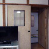 注文住宅 かっこいい工務店 三重県 桑名市 家作店 辰屋 リノベーション 施工例4 LDK 和風モダン リビング
