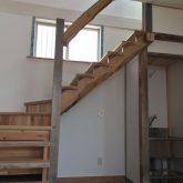 注文住宅 かっこいい工務店 三重県 桑名市 家作店 辰屋 新築 施工例1 木製 階段