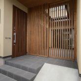 注文住宅 かっこいい工務店 熊本 ブレス ブレスホーム 施工例38 玄関 アプローチ