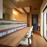 注文住宅 かっこいい工務店 熊本 ブレス ブレスホーム 施工例38 ナチュラルモダン キッチンカウンター