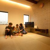 注文住宅 かっこいい工務店 熊本 ブレス ブレスホーム 施工例38 ナチュラルモダン リビング