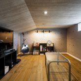 注文住宅 かっこいい工務店 熊本 ブレス ブレスホーム 施工例39 ナチュラルモダン 屋根裏部屋 ご主人 趣味