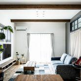 注文住宅 かっこいい工務店 熊本 ブレス ブレスホーム 施工例39 ナチュラルモダン リビング