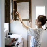注文住宅 かっこいい工務店 熊本 ブレス ブレスホーム 施工例39 ナチュラルモダン キッチン 造作 カップボード