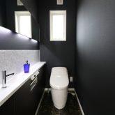注文住宅 かっこいい工務店 鹿児島県 日置市 西郷建築 大工と創る家 施工例2 平屋 トイレ