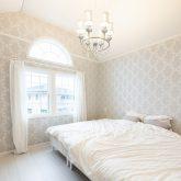 注文住宅 かっこいい工務店 福岡 不動産プラザ 施工例19 プロヴァンス フレンチメゾン 寝室