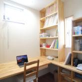 注文住宅 かっこいい工務店 熊本 ブレス ブレスホーム 施工例40 ナチュラルテイスト 書斎