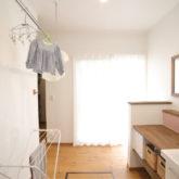 注文住宅 かっこいい工務店 熊本 ブレス ブレスホーム 施工例40 ナチュラルテイスト 洗濯物 乾燥スペース