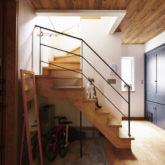 注文住宅 かっこいい工務店 埼玉 古川工務店 施工例43 ブルックリン 階段