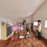 注文住宅 かっこいい工務店 埼玉 古川工務店 施工例43 ブルックリン 屋根裏部屋