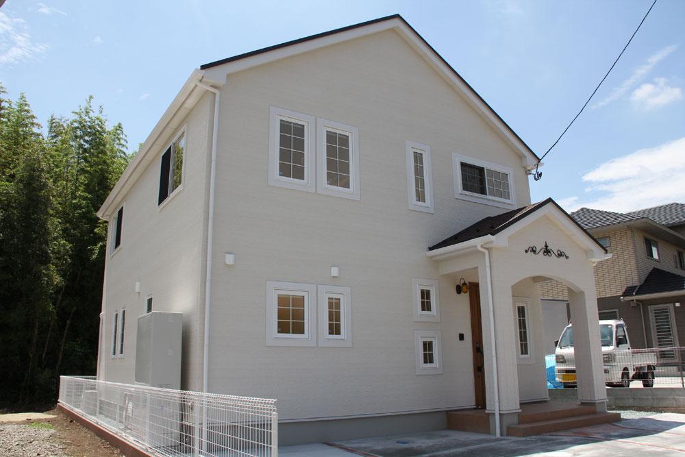 注文住宅 かっこいい工務店 宮城県 富樫工業 トガシホーム プロヴァンス 塗り壁 外観