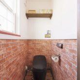 注文住宅 かっこいい工務店 古川工務店 施工例44 プロヴァンス パノラマ トイレ