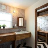 注文住宅 かっこいい工務店 山形県 福井建設 自由設計 施工例26 造作洗面台