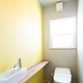 注文住宅 かっこいい工務店 山形県 福井建設 自由設計 施工例26 トイレ