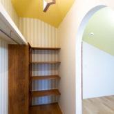 注文住宅 かっこいい工務店 山形県 福井建設 自由設計 施工例26 子供部屋 ウォークインクローゼット