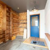 注文住宅 かっこいい工務店 山形県 福井建設 自由設計 施工例26 玄関ホール